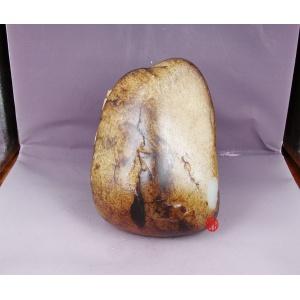 新疆和田玉黑皮一級白玉籽玉 原石 1439克