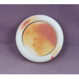 新疆和田玉红皮一级白玉籽玉手镯,手镯芯(已完工) 78克