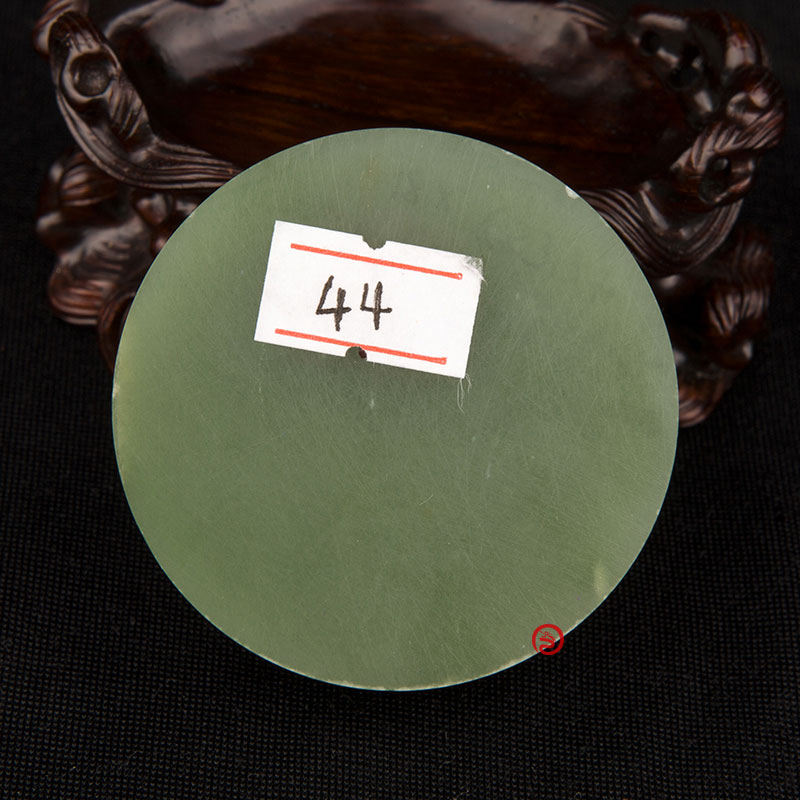 碧玉原料   镯子芯  142克
